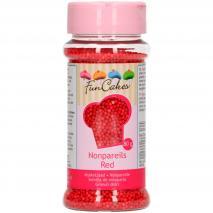 Sprinkles nonpareils 80 g rojo