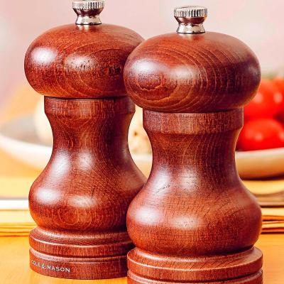 Molinillo sal Capstan madera chocolate 12 cm