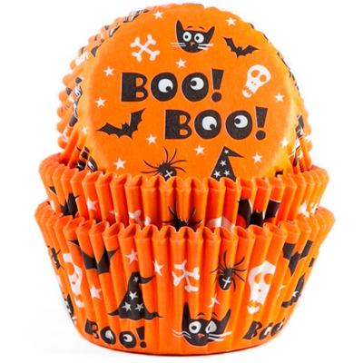 Papel cupcakes x50 Scary Halloween