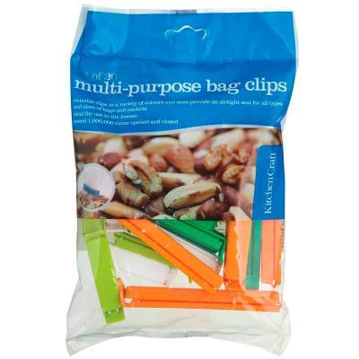 Set 20 clips zips surtidos cerrar bolsas