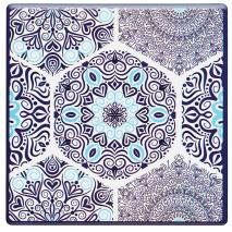 Posagots Blue mandala base suro