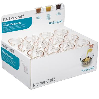 Mini jarra medidora cristal 40 ml