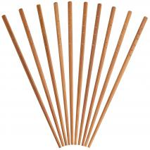 Set 10 bastonets xinesos en bambú natural