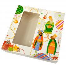 Caja para Roscón de Reyes Magia 28x28
