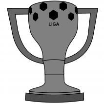 Molde Mona Pascua chocolate Copa Liga