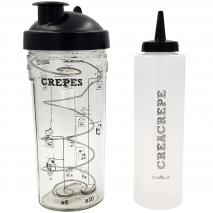 Kit Crea Crepe vaso batidor y biberón decorador