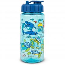 Botella agua con pajita Ocean