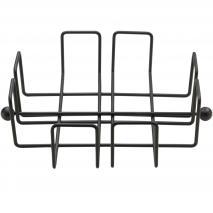 Servilletero Wire metálico 19x19 cm negro