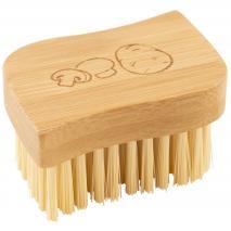 Cepillo vegetales bambú