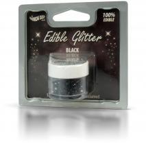 Polvo brillante comestible 5 g Glitter negro