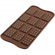 Molde bombones silicona Tablette x12 cav.