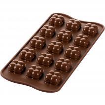 Molde bombones silicona 3D Bolas Games x15