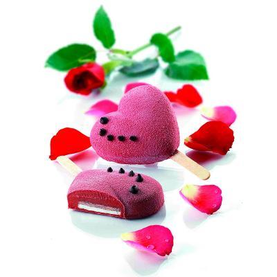 Molde helado Mini Corazones x3