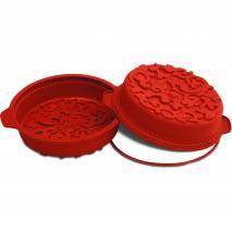 Molde redondo Ornamental silicona 26 cm