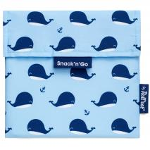 Bolsa Porta snacks Snack'n Go Animals Ballenas