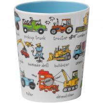 Vaso infantil Tractores