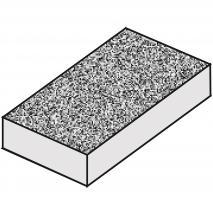 Motllo torró clàssic granulat x 4 parts