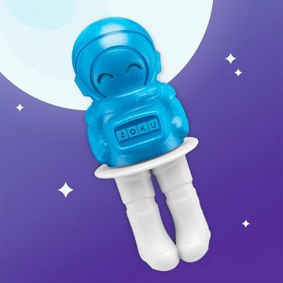 Molde 6 helados Zoku Space pops cohete espacial