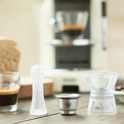 Kit cápsula acero para Nespresso