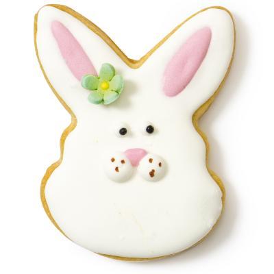 Cortador galletas plástico Pascua Conejo