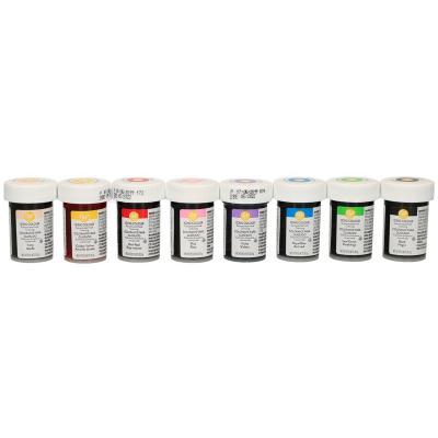 Juego 8 colorantes en pasta Wilton 8x28 g