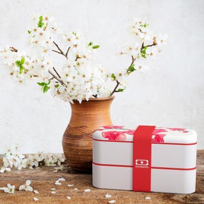 Fiambrera doble Monbento Blossom