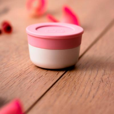 Set 2 recipientes condimentos Bento litchi/blush