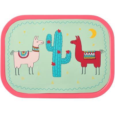 Fiambrera mediana Lunchbox Llama