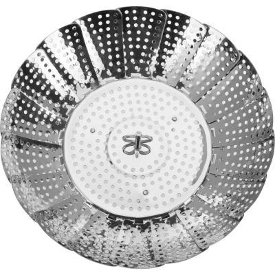 Vaporera extensible acero 14-23 cm