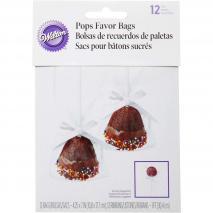 Kit bolsa con lazo pop cakes x12 17x10 cm