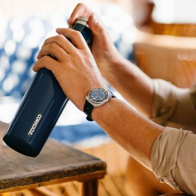 Botella térmica acero Corkcicle 475 ml azul navy