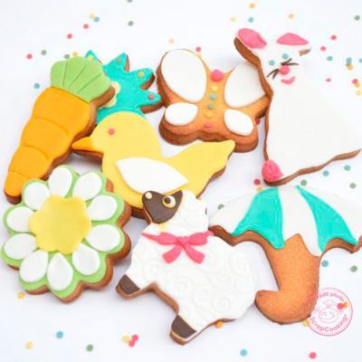 Set 16 cortadores galletas Naturaleza y animales