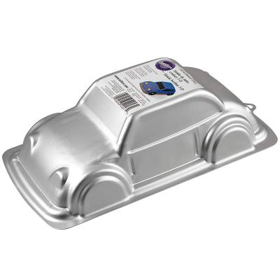 Molde coche 3D aluminio 28 cm
