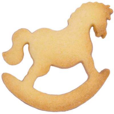 Cortador galletas Caballo Balancín 6,5 cm