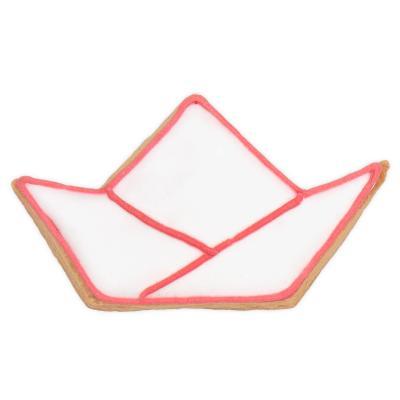 Cortador galletas Barco de papel 6 cm