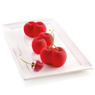 Molde silicona multicavidad Cereza rosso