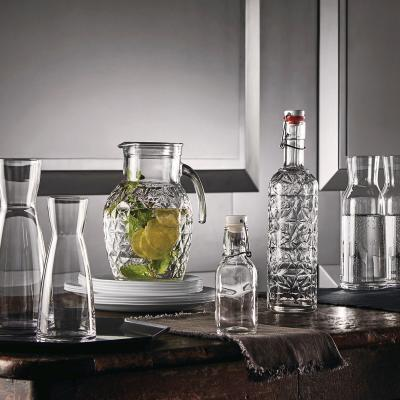 Botella cristal para agua Oriente 1 L