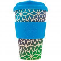 Taza bambú con tapa New Ecoffee 400 ml Stargate