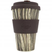 Taza bambú con tapa New Ecoffee 400 ml Baumrinde