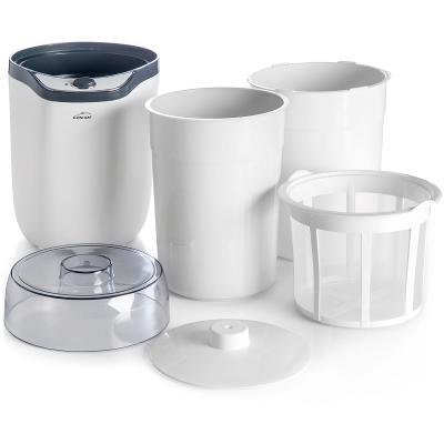 Yogurtera eléctrica con 2 tarros y filtro 1,8 L
