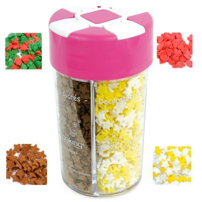 Sprinkles navidad 4 dosificadores