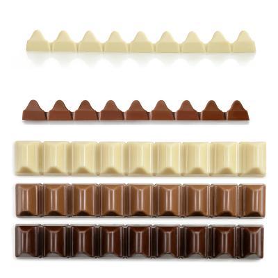 Molde chocolate Toblerone policarbonato