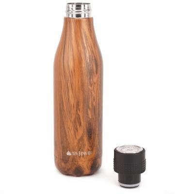 Botella térmica UP 500 ml madera
