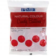 Candy Melts color natural PME rojo