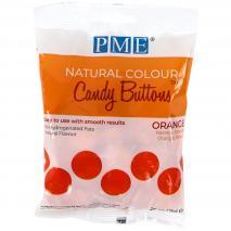 Candy Melts color natural PME naranja