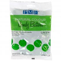 Candy Melts color natural PME verde