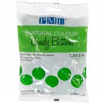Candy Melts color natural PME verde