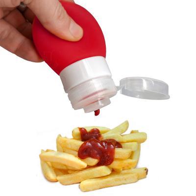 Dispensador salsas y condimentos silicona