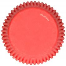 Papel cupcakes x48 Rojo