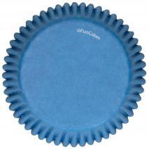 Paper cupcakes x48 Blau royal